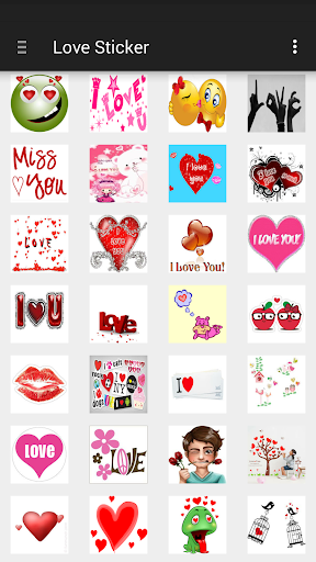 Screenshot for Love Sticker in Hong Kong Play Store
