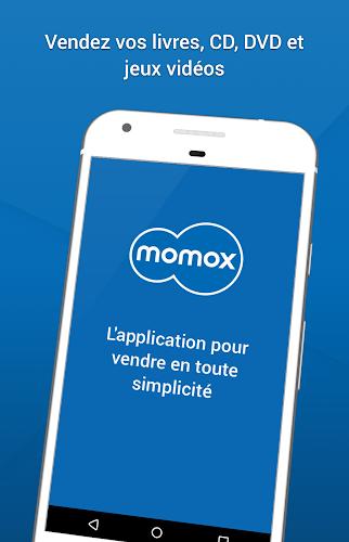 momox rachète livres, CD, DVD Android App Screenshot