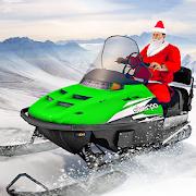 Santa Atv Snow Bike Racing 2020 : Quad Bike Race