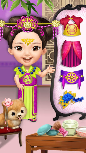 Pretty Little Princess - Dress Up, Hair & Makeup apkpoly screenshots 4