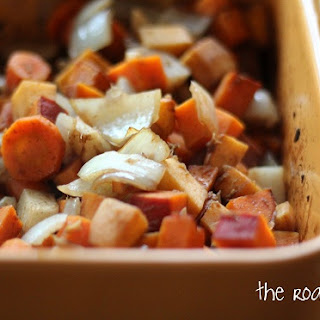 Balsamic Roasted Root Vegtables