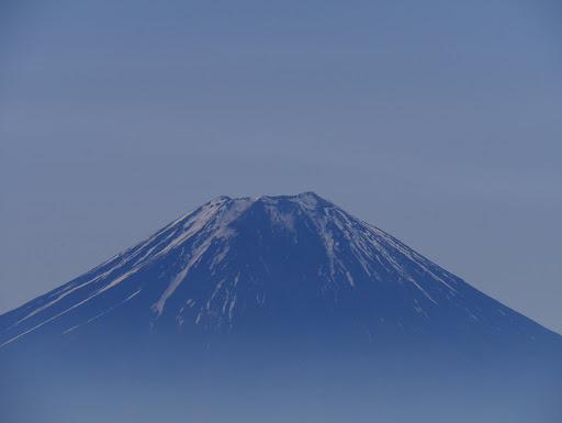 富士山アップ(雪は少なく)