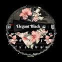 Elegant Black GO Keyboard icon