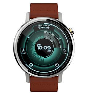 Atomic Watch Face- screenshot thumbnail