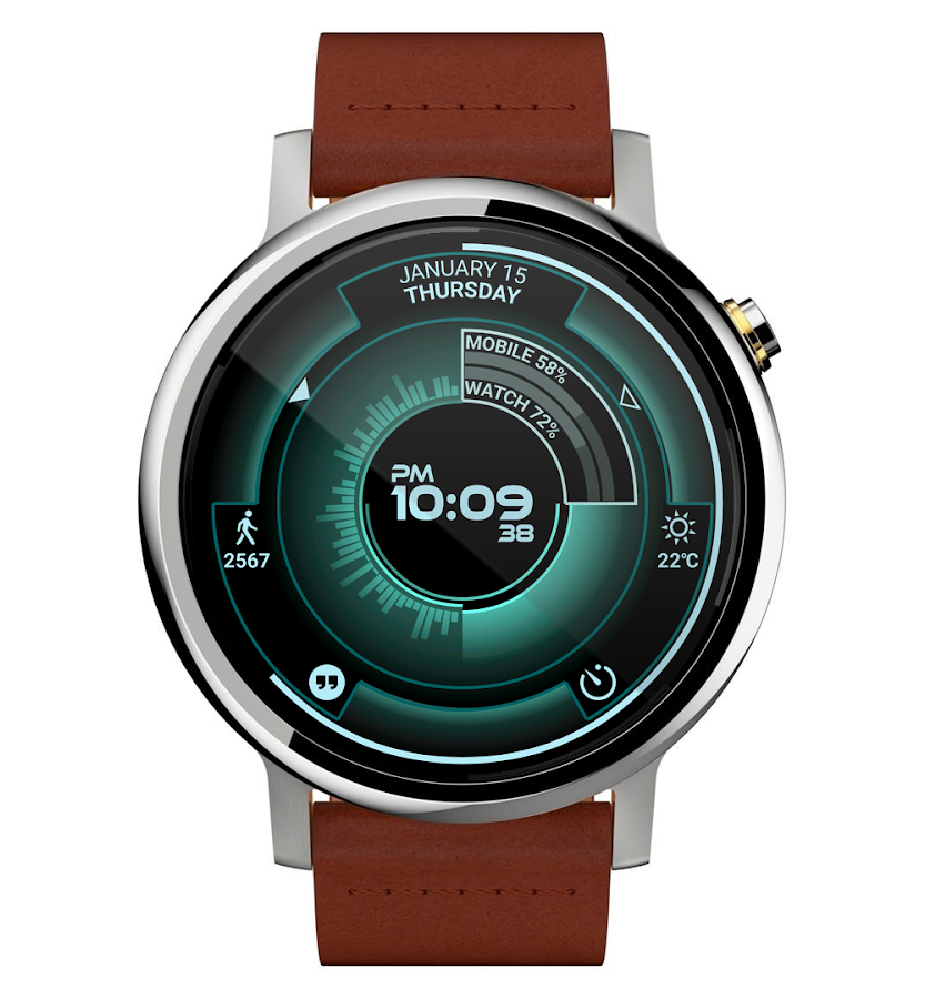 Atomic Watch Face- screenshot