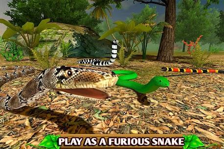 Simulador furioso de cobras 1.0 Apk Mod [DINHEIRO INFINITO] 7