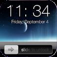Lock screen slider