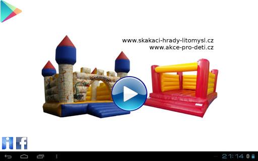 Puzzle pro děti Skákací hrady