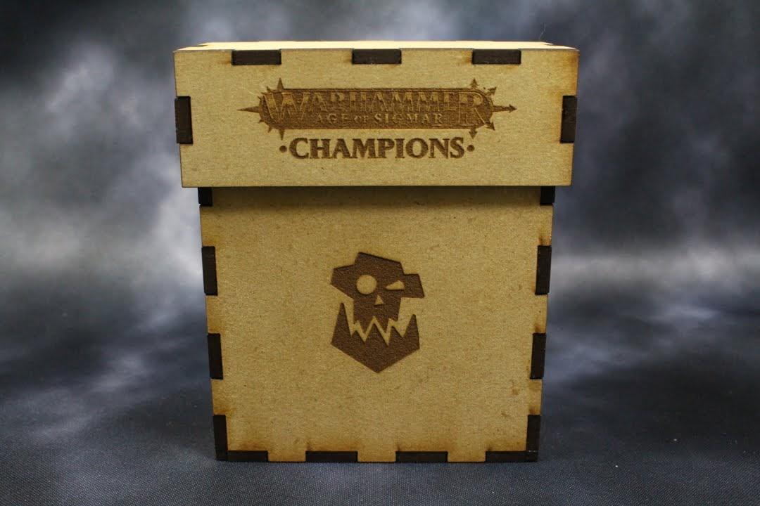 Champions Destruction Engraving