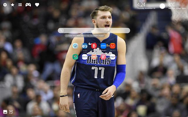 Luka Doncic Dallas NBA Wallpaper HD
