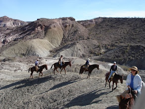 Photo: Horseback Trail rides near Big Bend National Park.