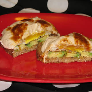 Spicy Avocado and Egg Toast- 210 calories.