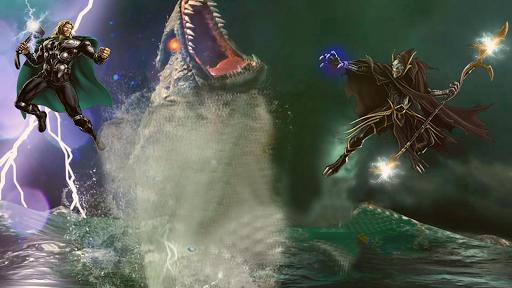 Thanos Vs grand superhu00e9ros Infinity Lutte Battle  captures d'u00e9cran 14