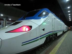 Photo: Arrivée à Taschkent