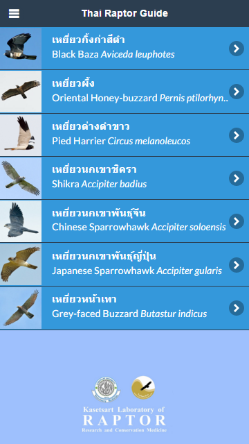 Thai Raptor Guide- screenshot
