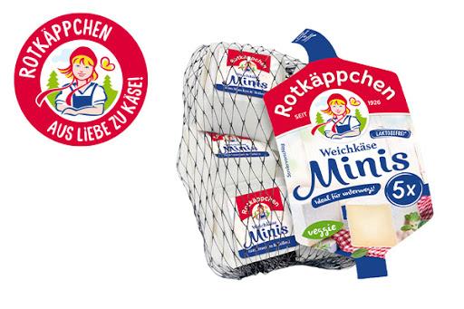 Bild für Cashback-Angebot: ROTKÄPPCHEN Weichkäse Minis