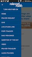 Screenshot of Relevant Radio