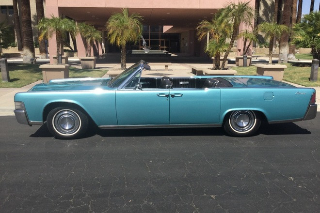 Gorgeous 1965 Lincoln Continental convertible Hire CA