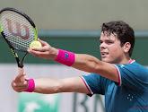 Milos Raonic komt niet meer in actie in de kwartfinales van het ATP-toernooi in Antwerpen