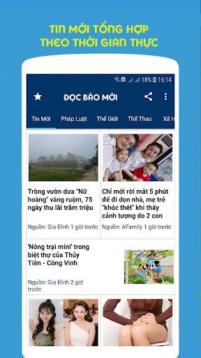 Tin Tức 24h, Báo Mới Ngày Nay, Tin Nóng 1.0 screenshots 2