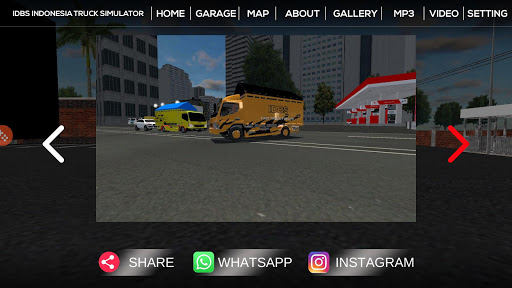 IDBS Indonesia Truck Simulator 3.1 screenshots 6