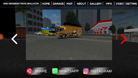 IDBS Indonesia Truck Simulator APK screenshot thumbnail 6