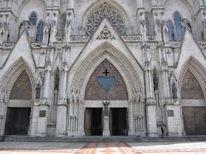 Photo: Basilica entrance