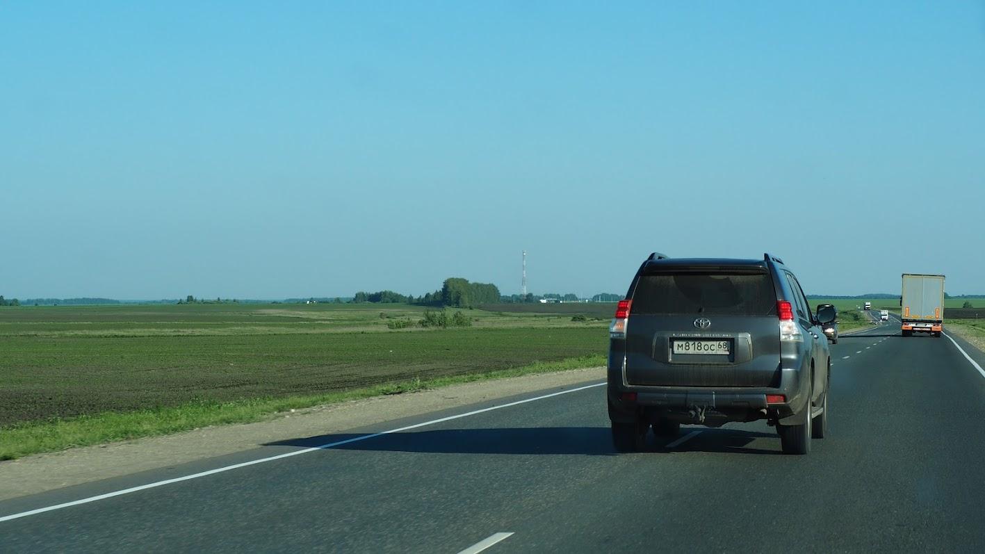 Автопробег на внедорожниках по России