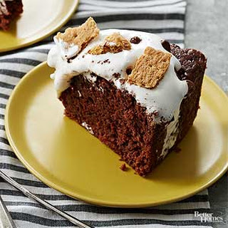 Slow Cooker S'more Cake
