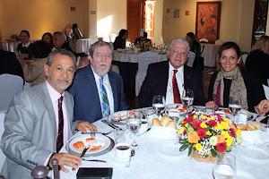 JAIME ROGEL, Jorge Sales, Julio Laguna y Rocío Mucharráz.
