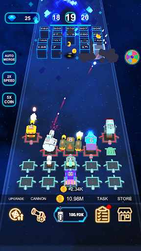 Cannon Defense-SciFi Idle apkmr screenshots 7