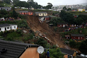 A house that collapsed in Umlazi H section during the last floods that hit KZN in April.