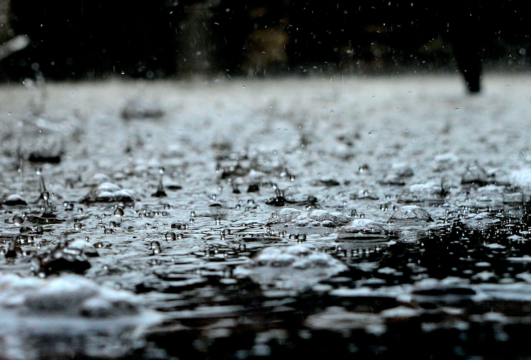 Rainfall file picture.