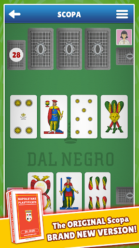 Scopa Dal Negro 2.4.9 screenshots 1