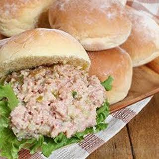 Ham Salad Sandwiches.