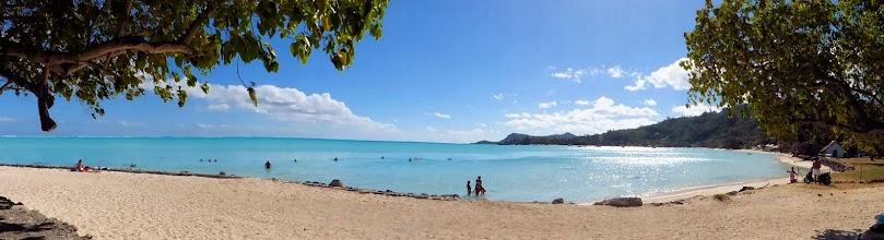 Photo: Bora Bora's public beach