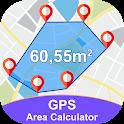 Gps Area Calculator For Land : Fields Area Measure icon