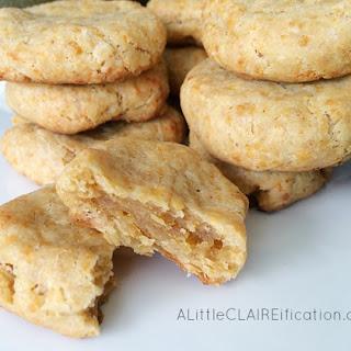 Savory Cheddar Shortbread Cookies
