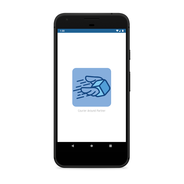 COURIERAROUND PARTNER - A COURIER DELIVERY APP – (Android