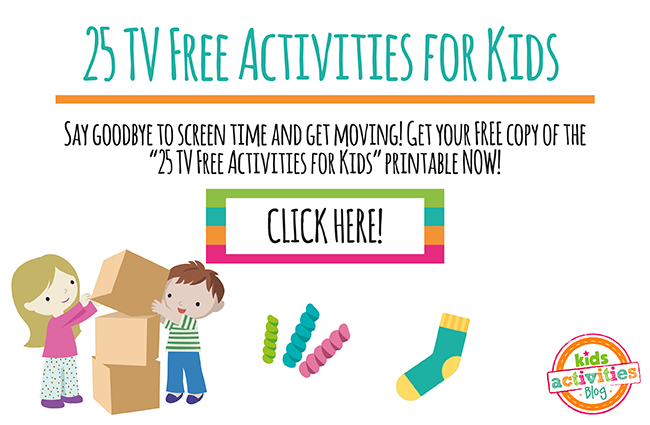 25 TV Free Activities for Kids!