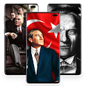 Atatürk and Turkish Flag Wallpapers icon