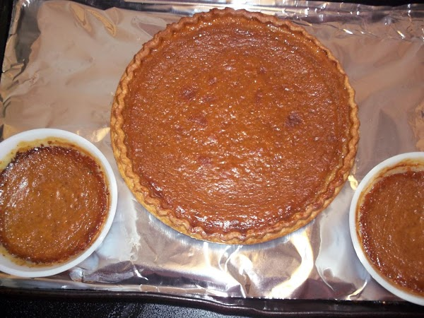 Lower temperature to 350 & bake for an additional 40-45 minutes or when knife...