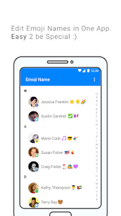 Emoji Contacts Manager - Emoji Photo - náhled