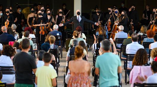 La OJAL y la OIAL celebran el Día de la Música con un concierto al aire libre