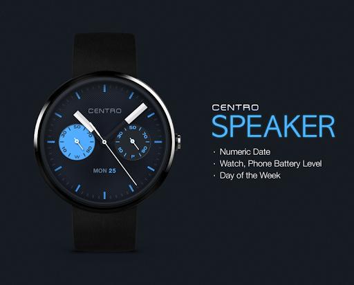 Speaker watchface by Centro