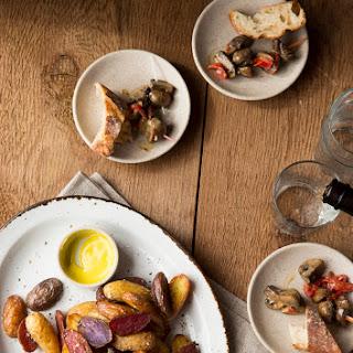 Salt-and-Vinegar Roasted Potatoes
