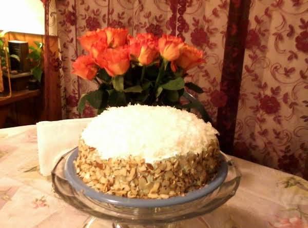 Barbara's Mandarin/pineapple Cake Recipe