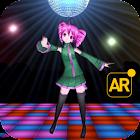 AR concierto muchachas baile icon