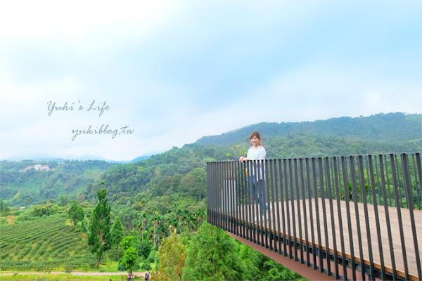 台灣農林新品牌《鹿篙咖啡莊園》超美景觀平台×茶園休閒咖啡廳