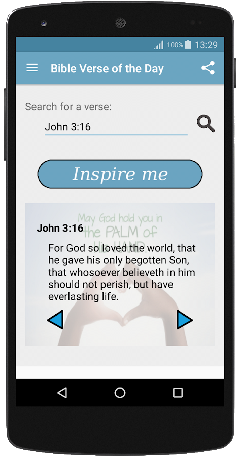 Bible Verse of the Day KJB- screenshot